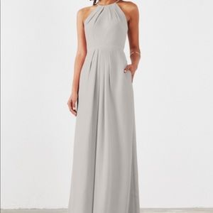 Grey Bridesmaid Prom Dress Weddington Way Isabelle